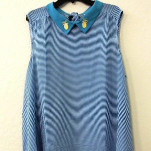 NWOT ModCloth Flavor Fusion Collared Sheer Top 3X